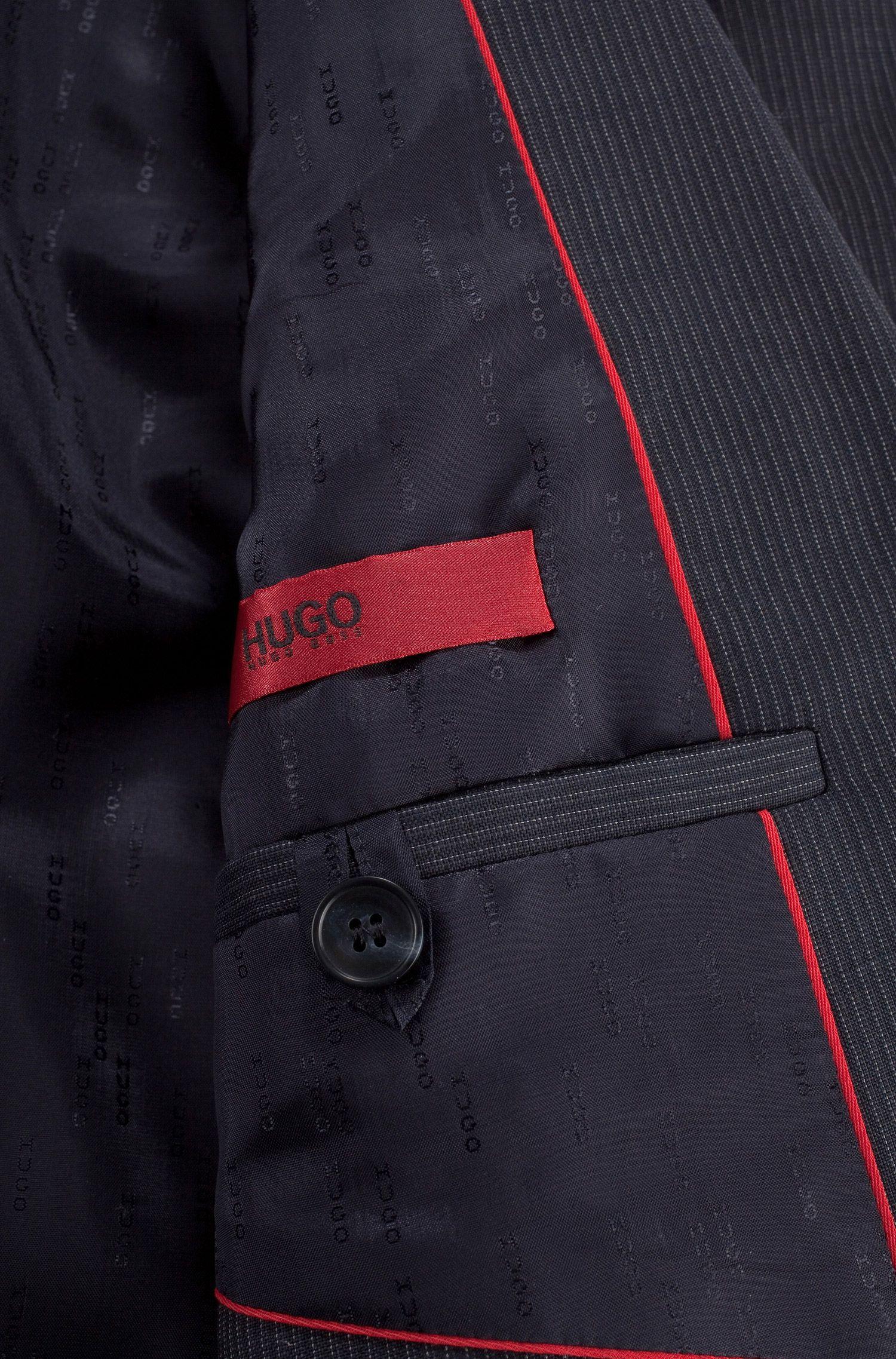 Business-Anzug ´Aiko1/Heise` aus Schurwolle, Dunkelblau