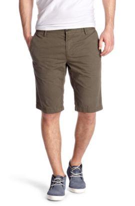 Regular fit casual Bermudas 'Schino-Shorts-D', Khaki
