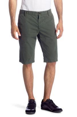 Bermuda détente Regular Fit, Schino-Shorts-D, Vert