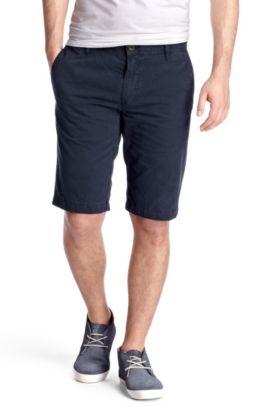 Regular fit casual Bermudas 'Schino-Shorts-D', Dark Blue