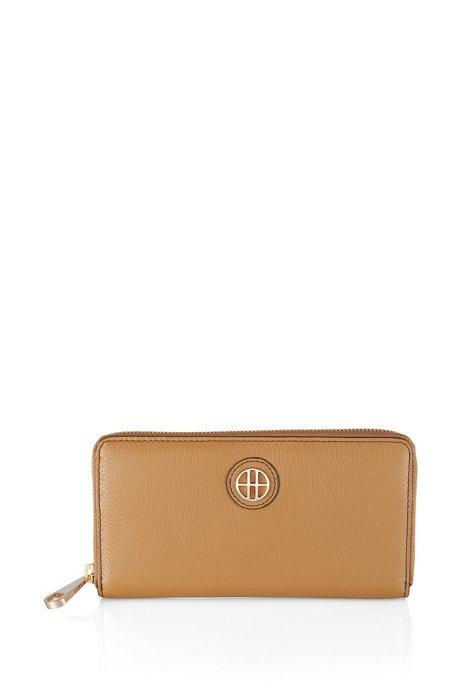 Designer leather wallet 'MODIS', Light Brown
