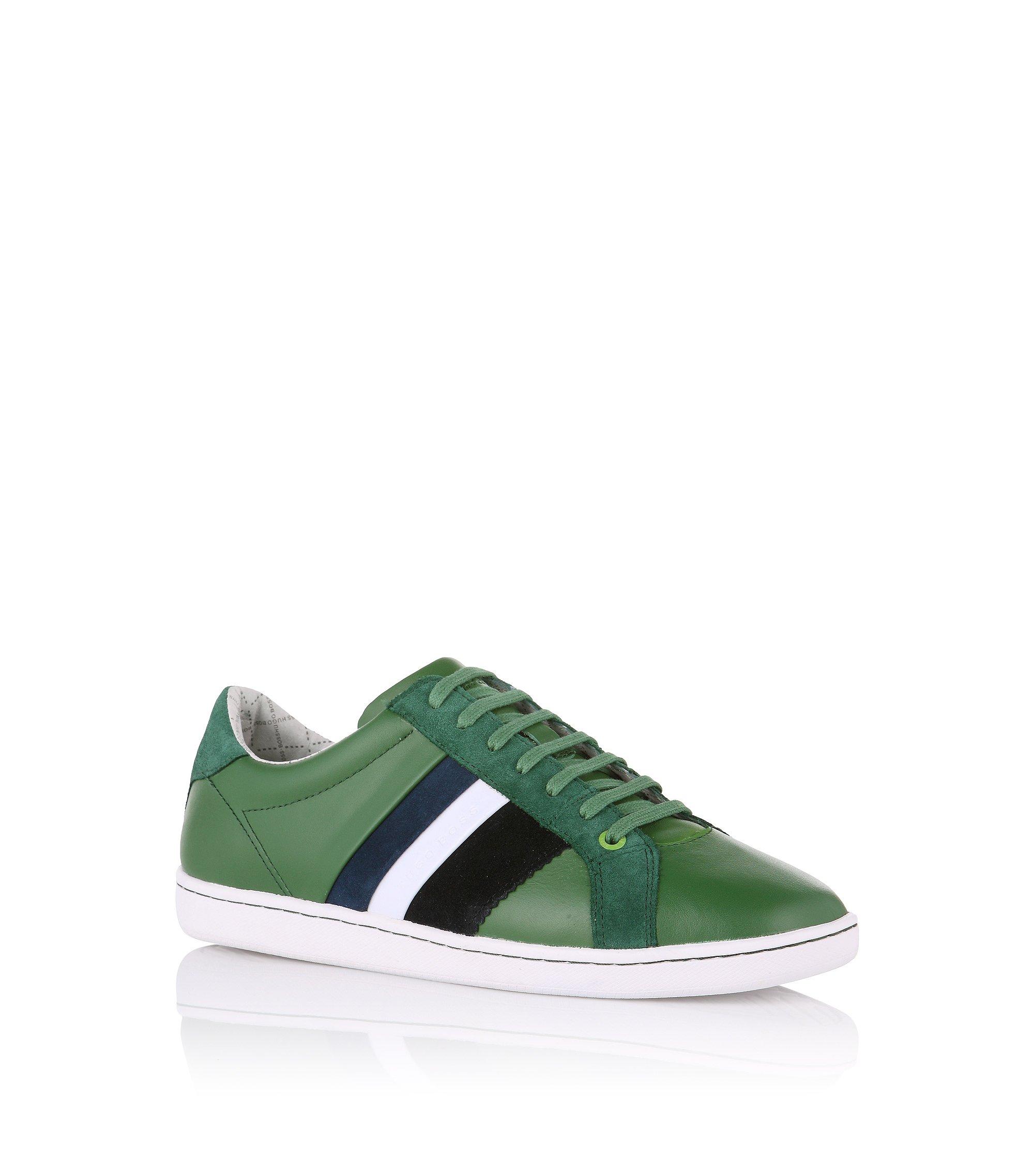 Leren sneakers ´Perrys`, Groen