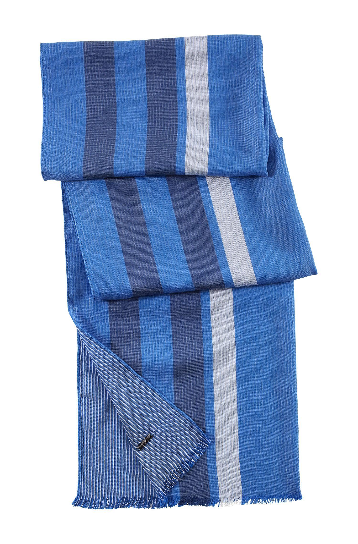 Écharpe design rayée, Men-Z 3030