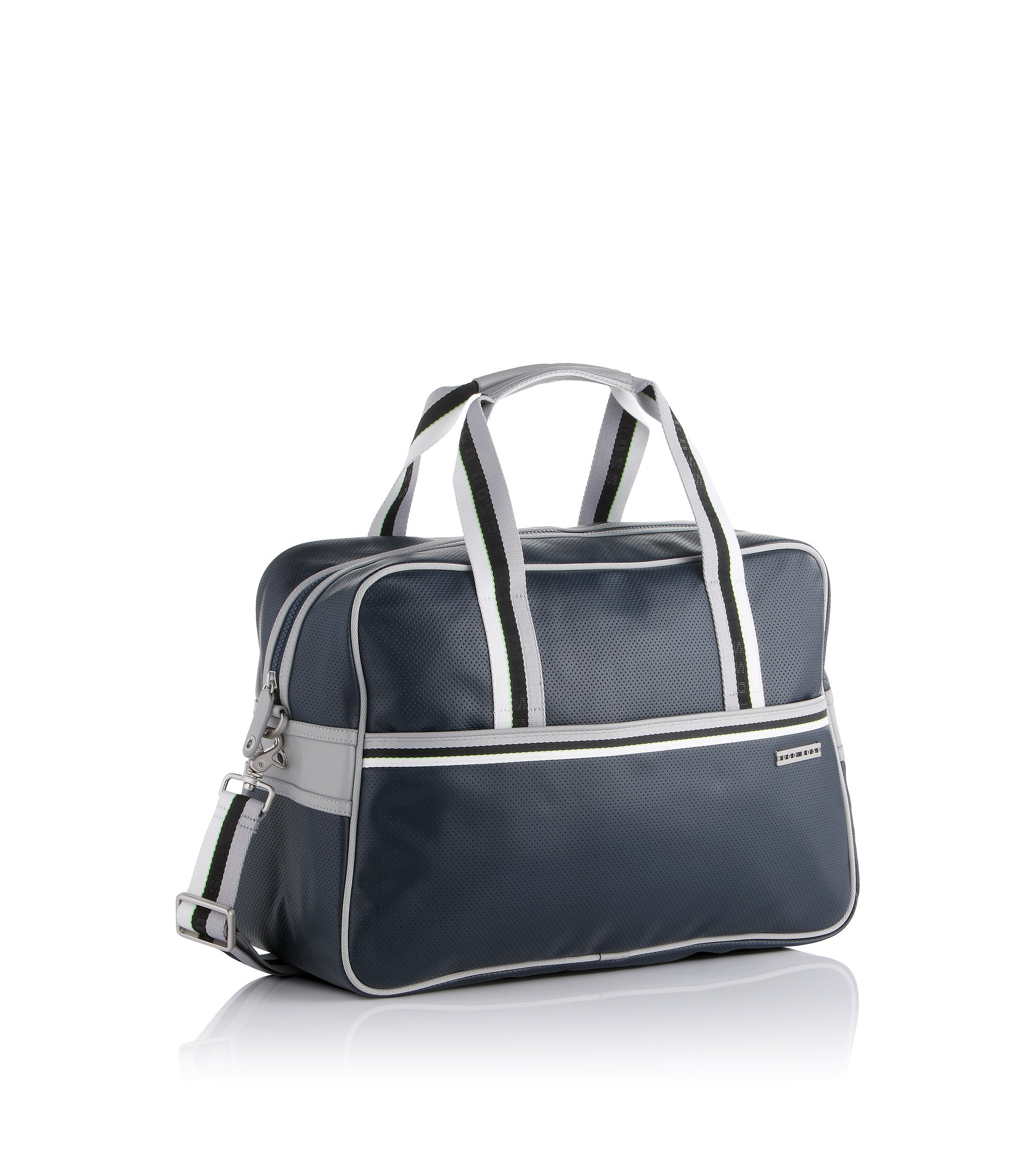Weekender with inside pockets 'Carlilnon', Dark Blue