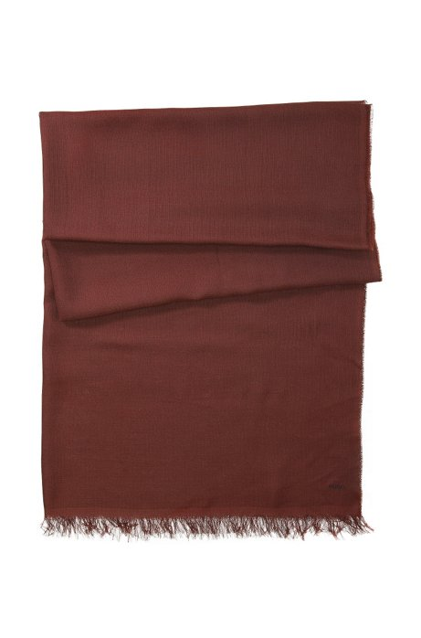 Modal scarf 'Women-Z 332', Brown