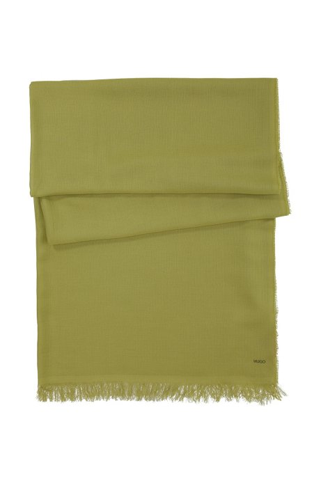 Modal scarf 'Women-Z 332', Green