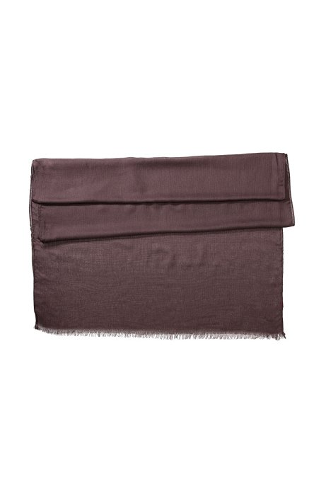 Modal scarf 'Women-Z 332', Dark Purple