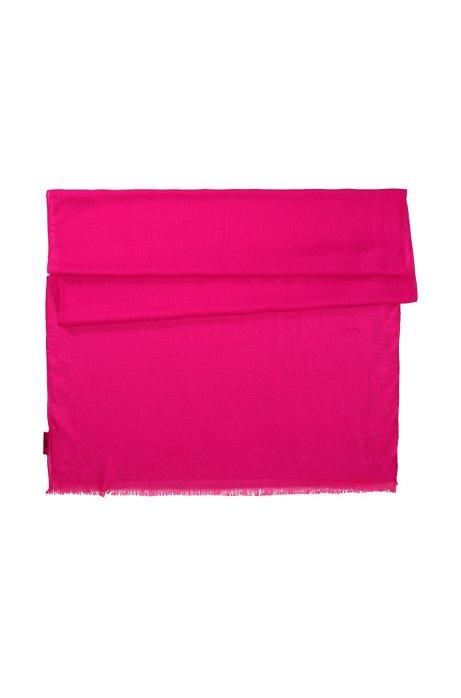 Modal scarf 'Women-Z 332', Pink