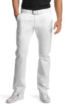 Jeans ´Lillon 2-W` mit Paspeltaschen hinten, Weiß