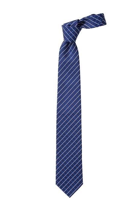 Fashion silk tie 'Tie cm 7,5', Dark Blue