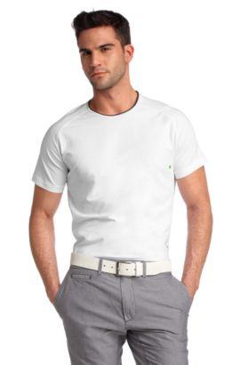 T-Shirt ´Tocho` met bijzonder stijlvolle mouwen, Wit