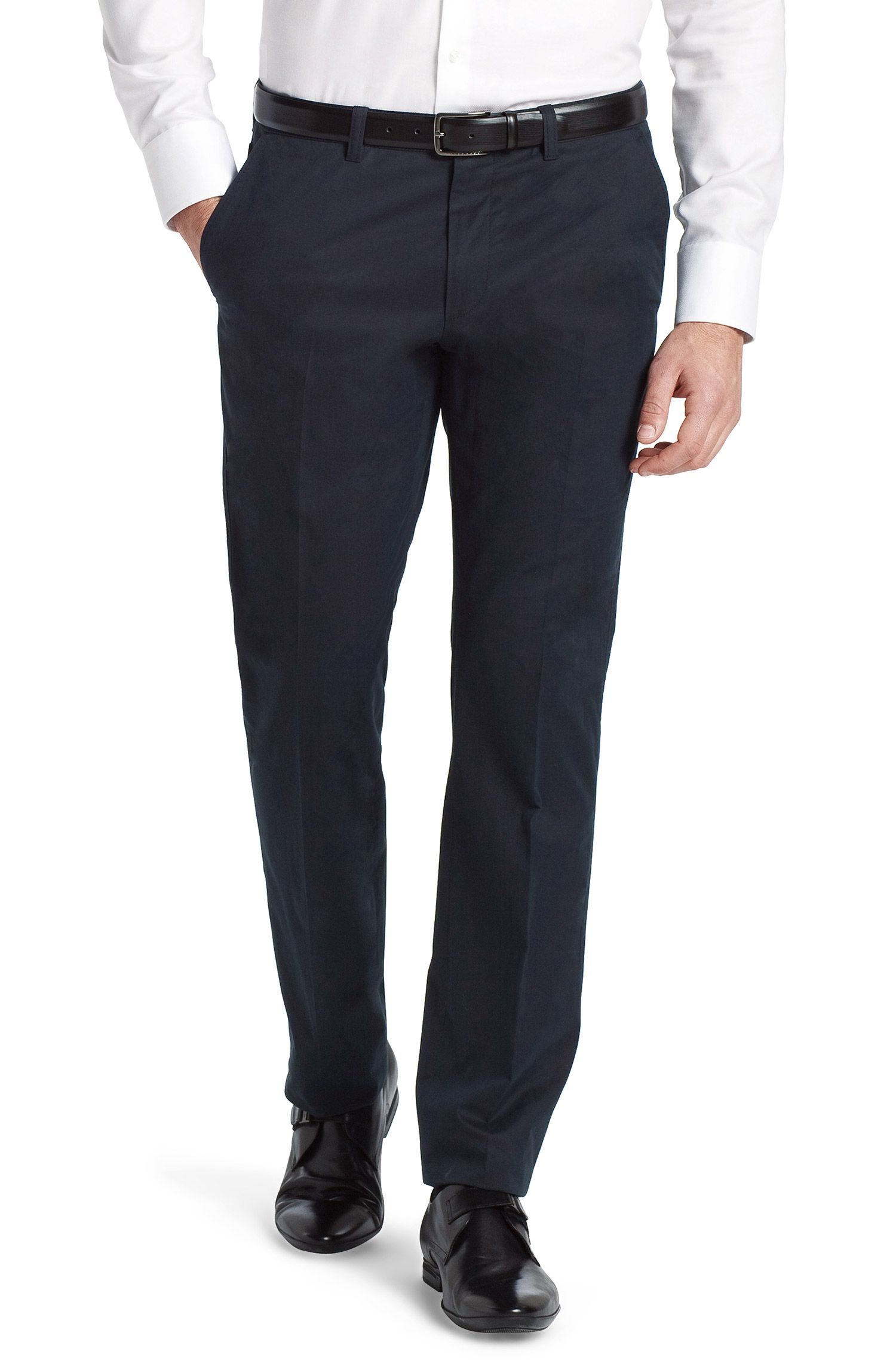 Anzughose ´Shadow4-W` aus feiner Baumwolle