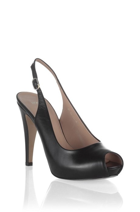Slingback court shoe 'NICOBA', Black