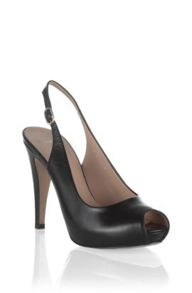Slingback court shoe 'NICOBA', Black