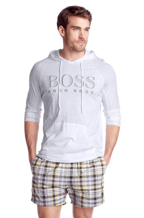 Hooded sweatshirt ´Shirt Hoodes LS BM`, Natural