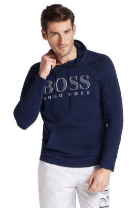 Sweat-shirt à capuche, Shirt Hoodes LS BM, Bleu foncé