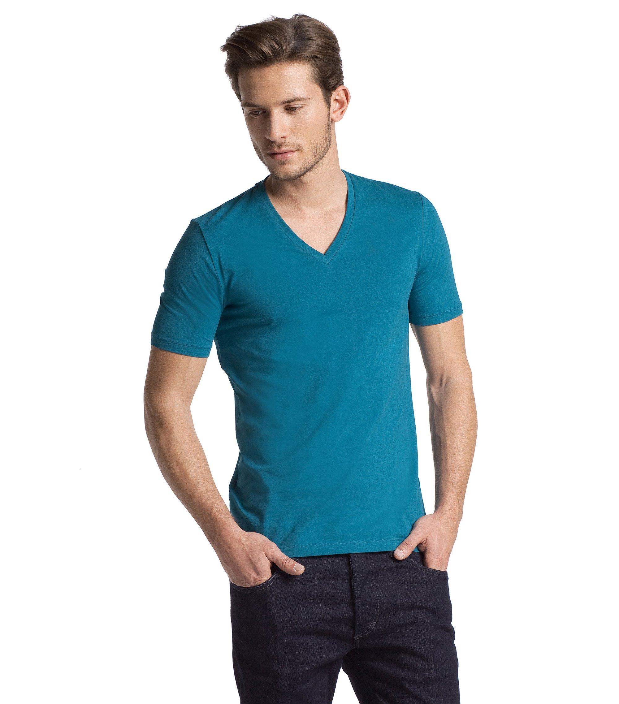 V-neck T-shirt 'Dredoso', Green