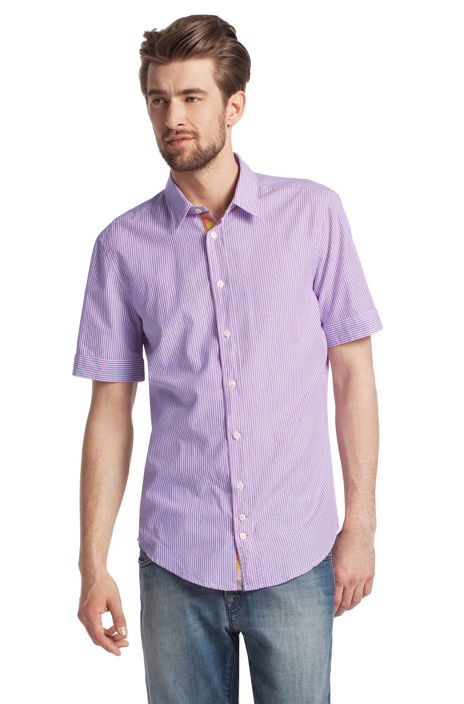 Freizeit-Hemd ´CliffiE` mit schmalem Kentkragen