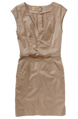 Mouwloze etui-jurk ´Ariala-W`, Beige