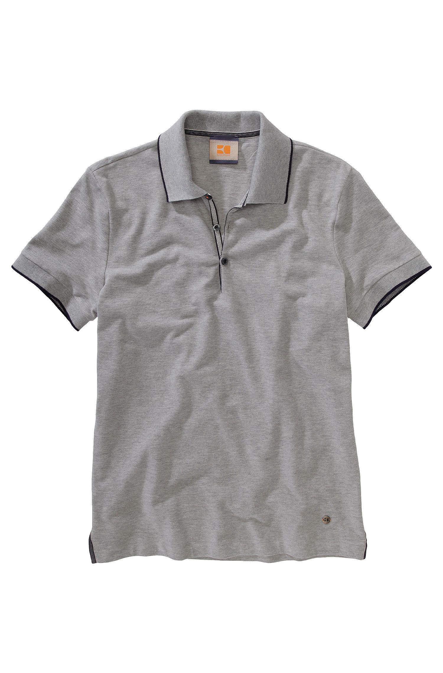 Poloshirt ´Pejo 1` van zuiver katoen