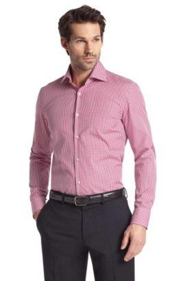 Chemise business à col Windsor, Jaron, Rouge