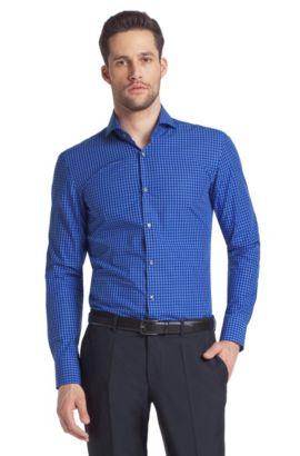 Business-overhemd ´Dwayne` met cutaway-kraag, Blauw