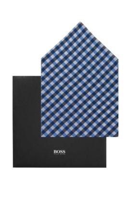Pochette, Pocket square 33 x 33 cm, Bleu