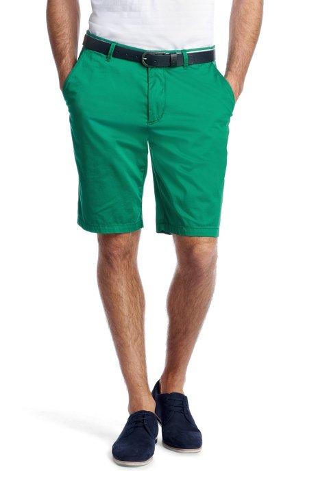 Bermudas 'Clyde1-7-W  modern essential', Green