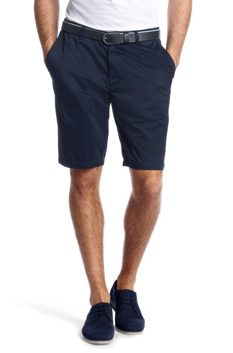 Bermudas 'Clyde1-7-W  modern essential', Open Blue