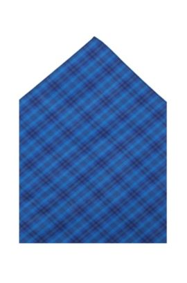 Einstecktuch ´Pocket square 35 x 35`, Hellblau