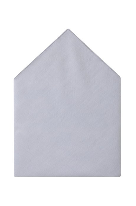 Dress handkerchief 'Pocket square 35 x 35', Open Grey