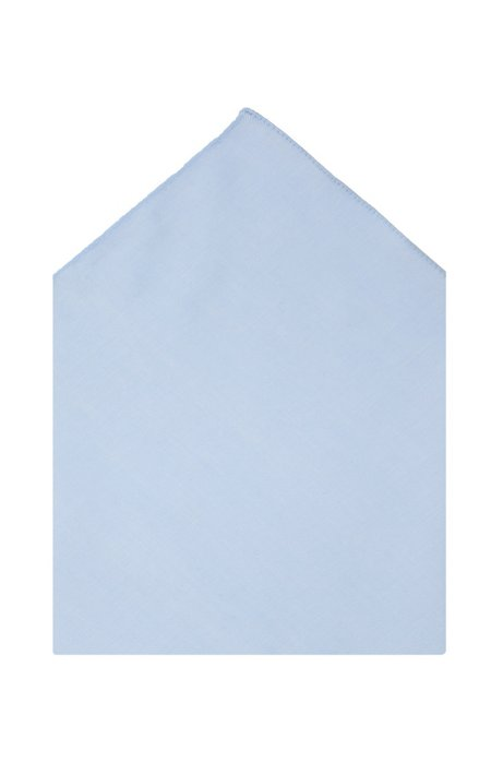 Dress handkerchief 'Pocket square 35 x 35', Light Blue