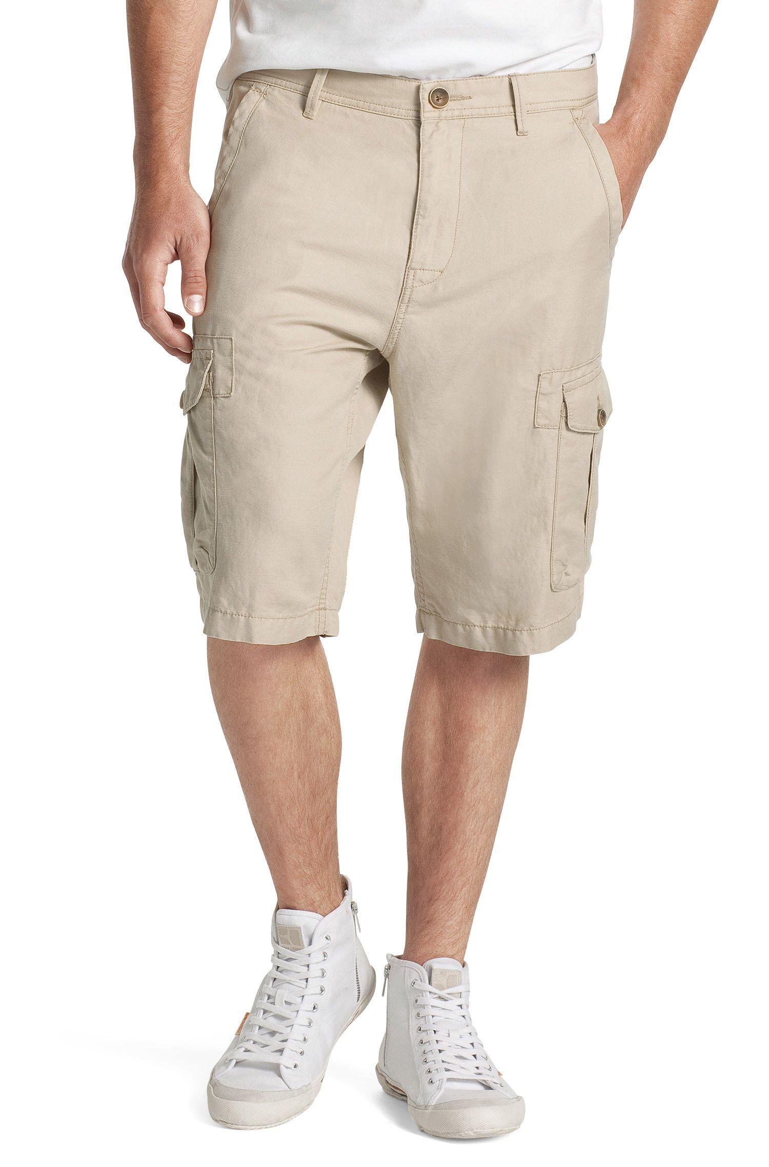 Short en lin mélangé, Strake-Shorts-D