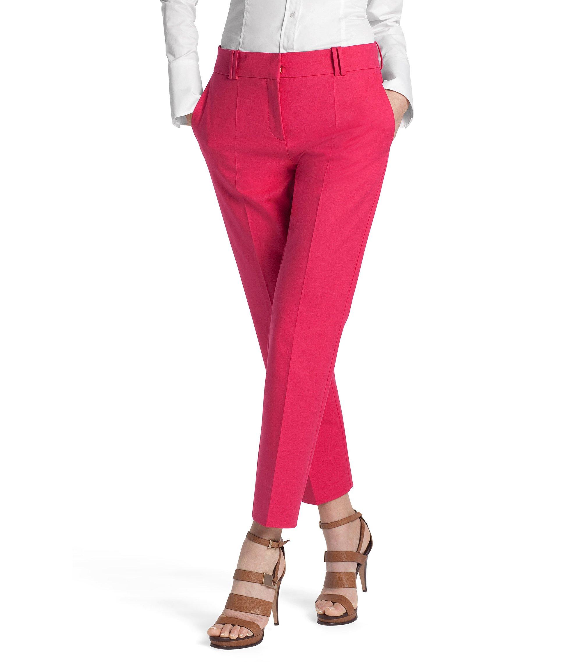 Pantalon en coton mélangé, Nadelle, Rose