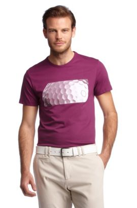 T-shirt à imprimé tendance, Tee MK, Rouge clair