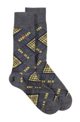 Sokken ´RS Design` van een katoenmix, Grijs