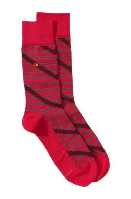Chaussettes à bordure de confort, RS Design, Rouge