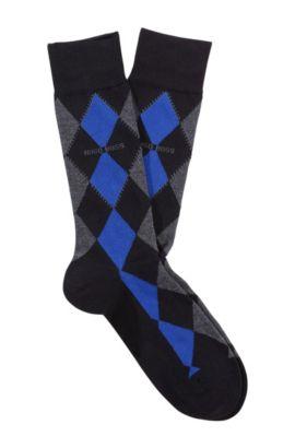 Socken ´RS Design` aus Baumwolle, Schwarz