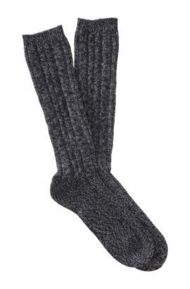 Chaussettes à bordure de confort, RS Design, Noir