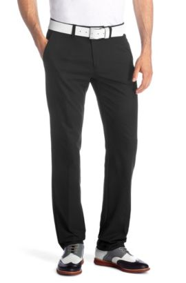 Slim-Fit Golfhose ´Hakan 5`, Schwarz