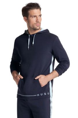 Sweatshirt ´Shirt Hooded LS BM` mit Kapuze, Dunkelblau
