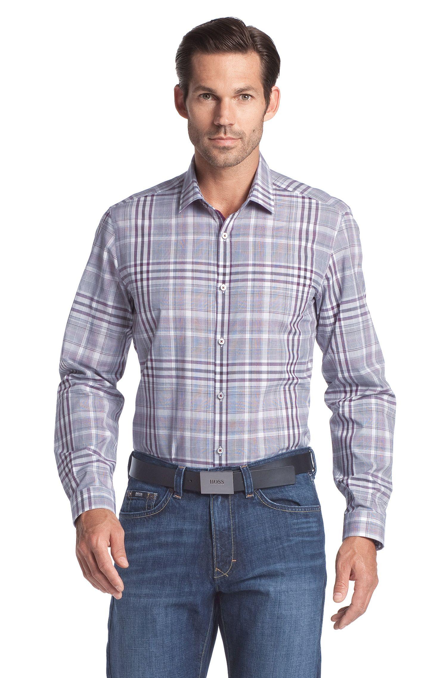 Freizeit-Hemd ´Lorenzo` mit Kentkragen