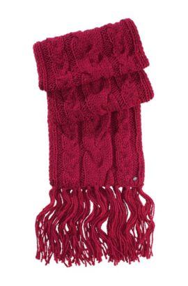 Schal ´Nosane` aus Woll-Mix, Pink