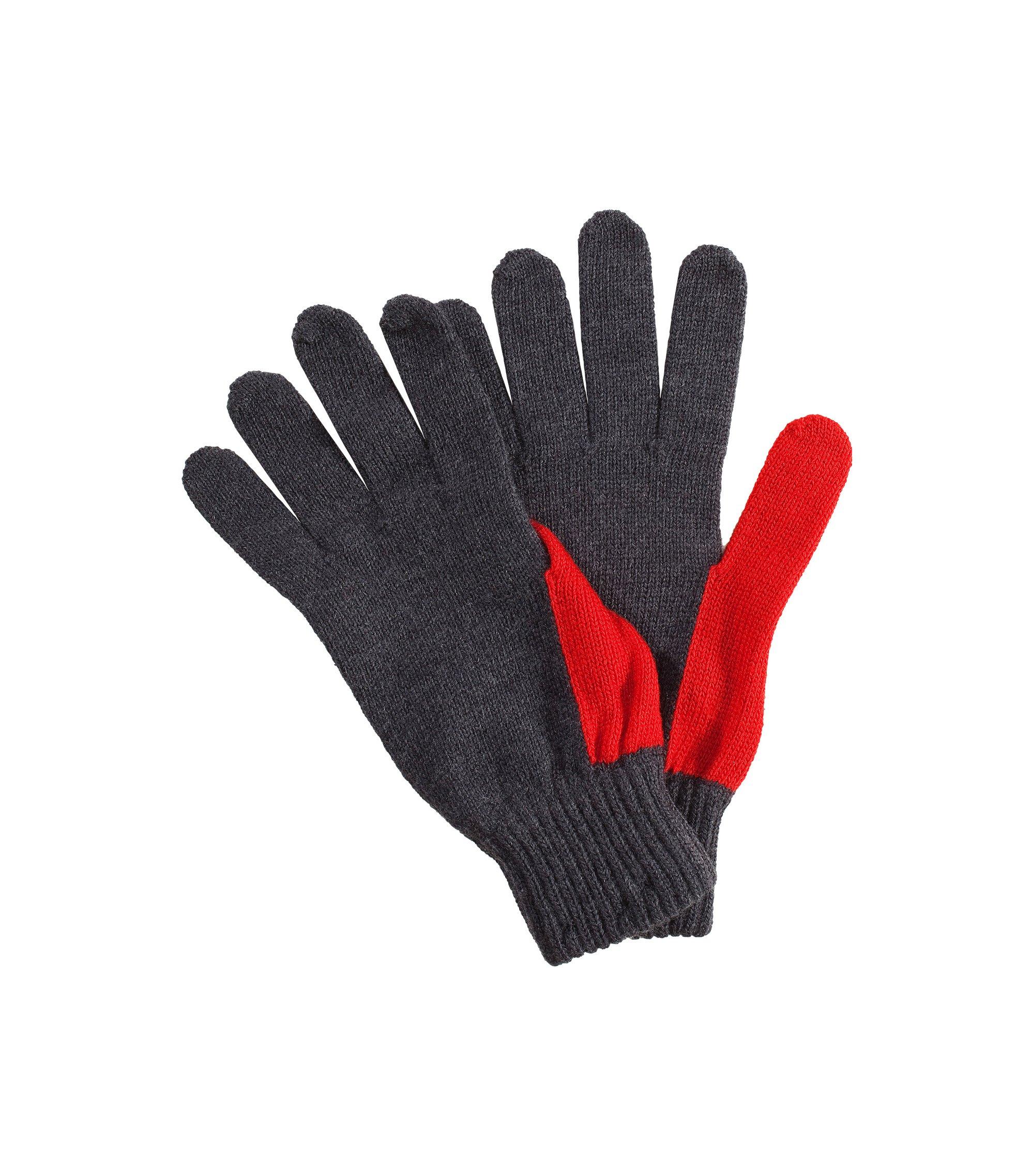 Handschuh ´Men-W10` aus Schurwolle, Anthrazit