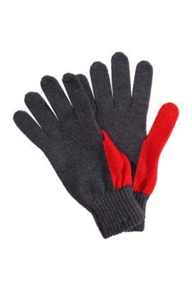 Handschoenen ´Men-W10` van scheerwol, Antraciet