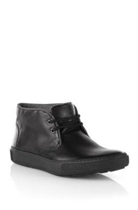 Desert-boots ´Corrot` van lamaleer, Zwart