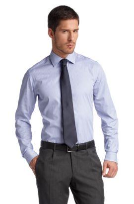 Chemise business à col Kent, Stirling, Bleu foncé
