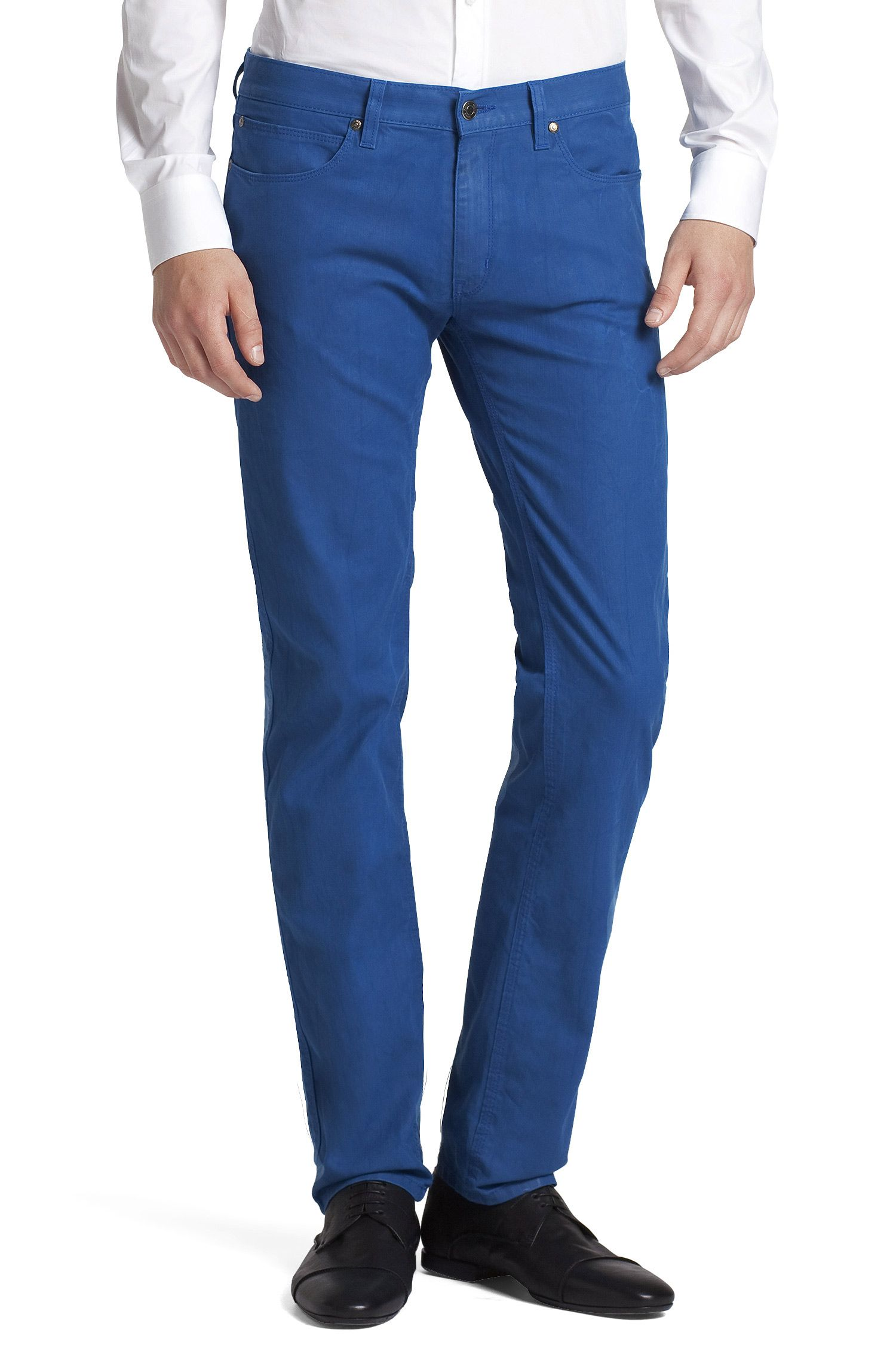 Jeans 'HUGO 708' met glanzende finish