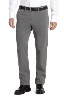 Pantalon détente Regular Fit, Crigan1-D, Gris chiné