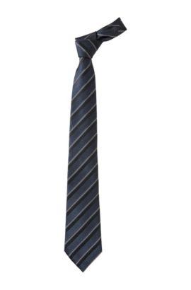 Cravate classique élégante, TIE CM 8, Bleu foncé